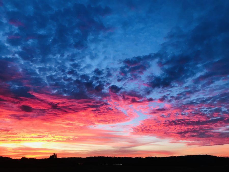 Sonnenuntergang in Mecklenburg Vorpommern
