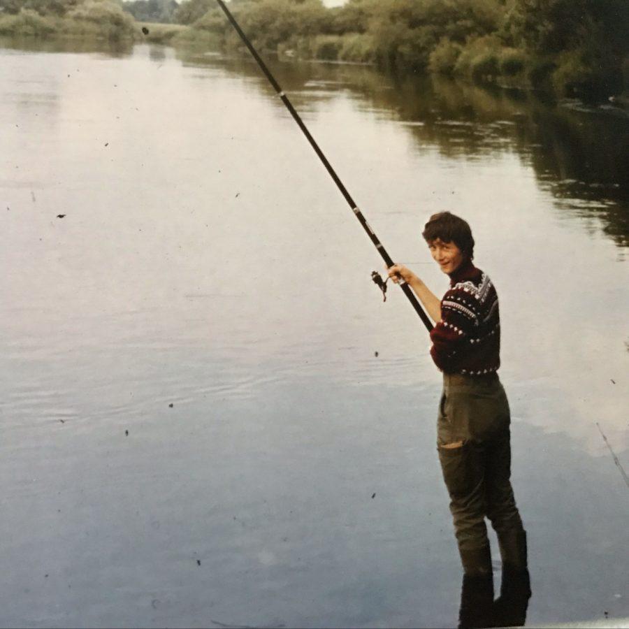 Fische fangen in fremden Gewässern